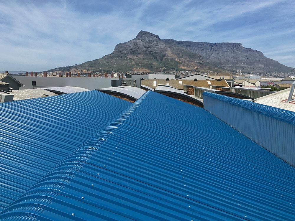 Commercial Roofing Project Based In Paarden Eiland
