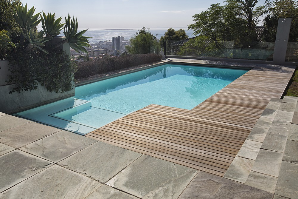 Decking Construction Project In Fresnaye In Cape Town
