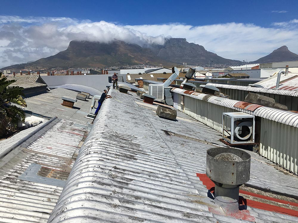 Commercial Roofing Project, Cape Town